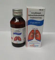 Levosalbutamol Sulphate 1mg, Ambroxol 30 mg, Guaiphenesin 50 mg