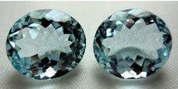 Aquamarine Gemstone For Earrings