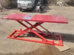 Two Wheeler Service Ramp