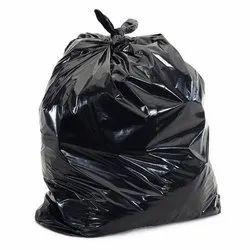 24x26 Inch Disposable Black Bin Bag, Capacity: 30-60 Litre