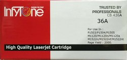 36A  (CB 436A) Compatible Toner Cartridge For HP Printers