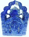 Ganeshji Lapiz Lazuli Stone Made