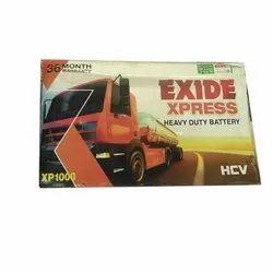 Exide Truck Battery, Model Name/Number: XP1000