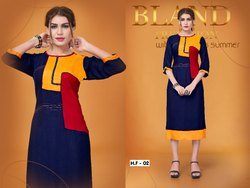 Party Wear Fancy Rayon Kurti