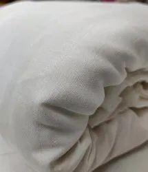 44 White Viscose Santoon Fabrics, for Clothing, for Garments