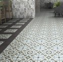 Flower Print Wall Floor Tile