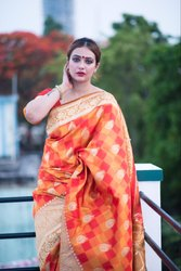 Ladies Designer Banarasi Saree