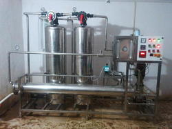 RO 2000 Lph SS Plant Ultraviolet With Ultrafiltration
