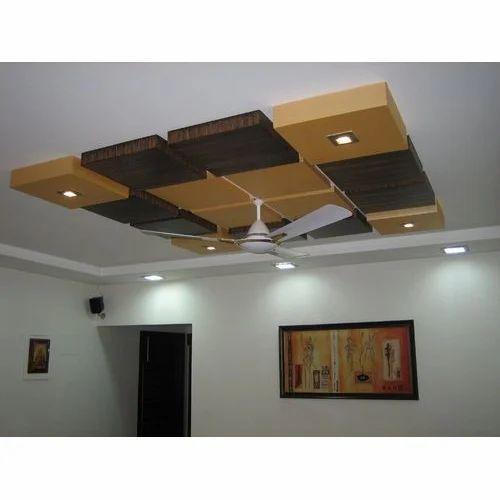 Living Room Pvc False Ceilings At Rs 22 Feet Adarsh Nagar Jaipur Id 18024674230