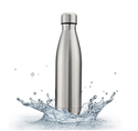 Insulated Water Bottle Double Wall Vacuum Stainless Steel Bottle Leak Proof