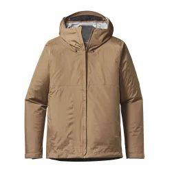 Men Full Sleeves Winter Jacket