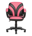 Pink and Black Workstation Chair