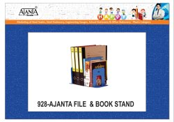 Steel 928 Ajanta File & Book Stand