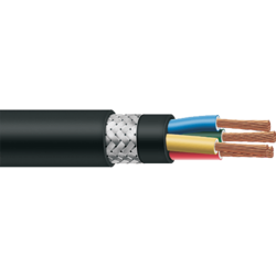 Screened Flexible Cables, 1100 V