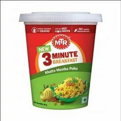 MTR Khatta Meetha Poha Cup 80 gm