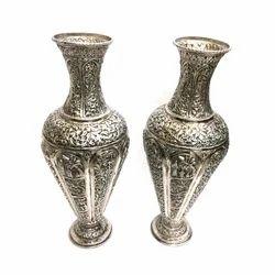 225 & Silver Flower Vase - Silver Flower Vases Latest Price ...