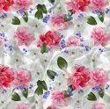Poly Rayon Cotton Printed Fabric