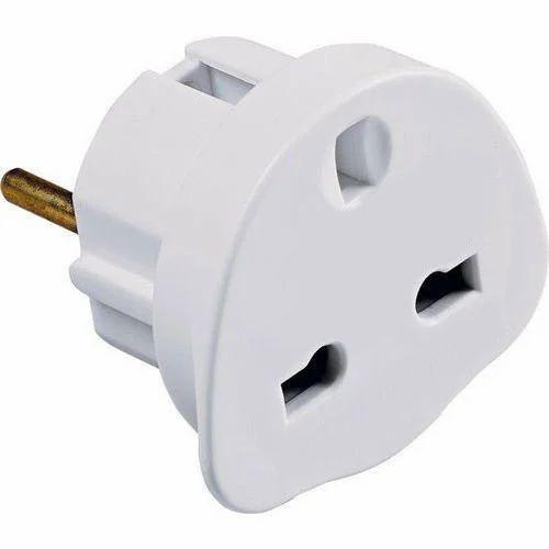 3 Pin To 2 Pin Plug Adapter At Rs 26   Piece