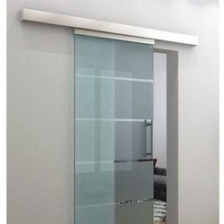 Glass Birkan Frame Less Door, Thickness: 10-20 Mm, for Office