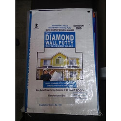 Diamond Wall Putty White Cement Bags
