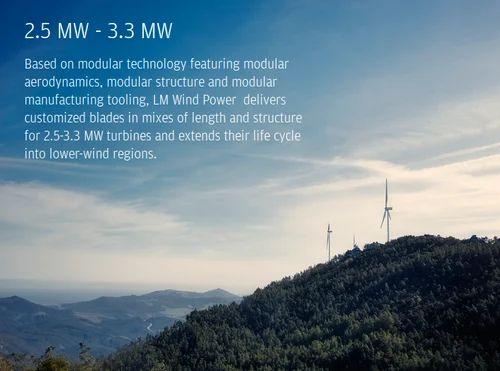 Manufacturer of Next Generation 3 MW Blades & 5 MW 6 MW