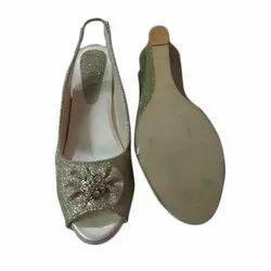 Party Wear Ladies Wedges Sandal, Size: 5-12