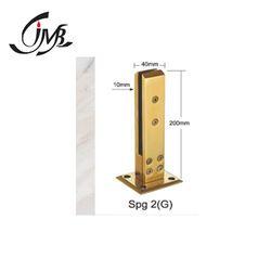 Glass Railing Golden Finish Spigot