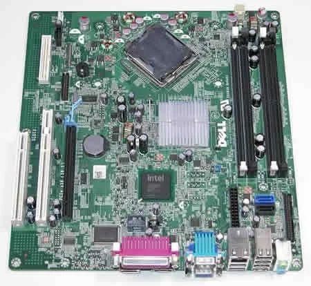 Dell Optiplex Gx760 Motherboard Part No  0D517D, SFF | ID