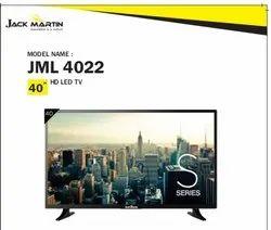 Black Wall Mount 40 Jack Martin Led Tv, Warranty: 3 yr, Vga Hdmi Usb