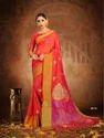 Cotton Silk Saree With Blouse