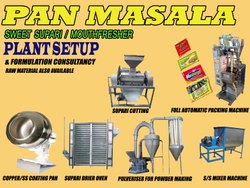 Pan Masala Formulation Consultancy