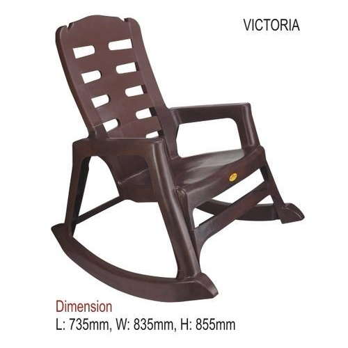 National Plastic Brown Chair For Indoor