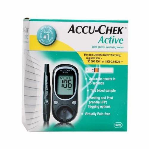 Accu Check Active Blood Sugar Monitor Accu Check Test