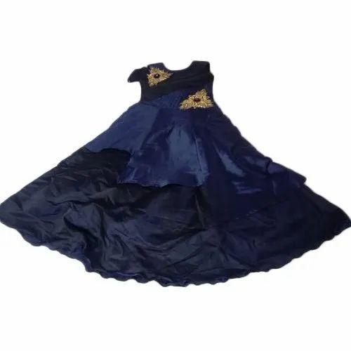 Kids Cotton Party Wear Designer Dress