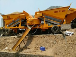 MMP-20 Mobile Concrete Batching Plant