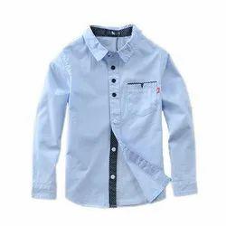 Plain Kids Full Sleeve Shirt
