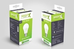 Printed LED Bulb Packaging Box