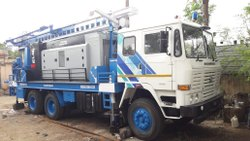 DTHR 400 Hydraulic Rotary Drilling Rig