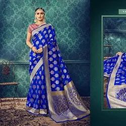 Trendy Banarasi Silk Saree