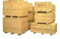 Hard Wood Wooden Packaging Box, Weight Holding Capacity(Kg): >1000 Kg