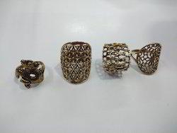 Brass Undercut Ring
