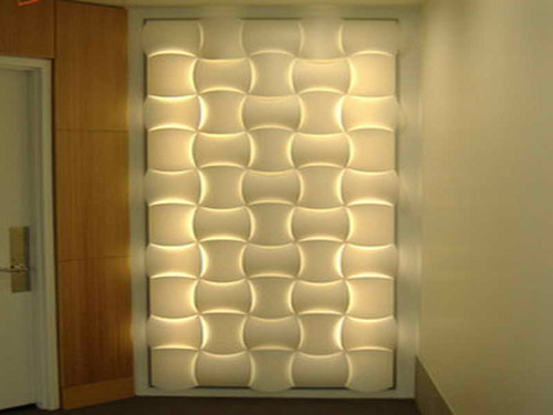 Dizzart 3D PVC Wall Panel, Applications: Home, Restaurants