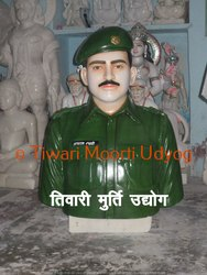 Marble Army Man Statue