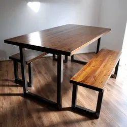 Metal & Wood Frame Type AAA Industrial Furniture
