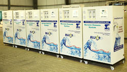 Blue RO Water Purifiers Plants