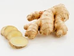 A Grade Yellow-Brown-Red Mix Raw Ginger, Gunny Bag, 1-5 Kg