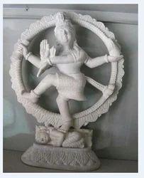 White Marble Natraj Statue