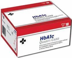 HbA1c Quanti Card 10 Test