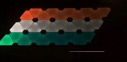 20 To 100 W Nano Leaf Aurora Fancy LED Panel