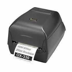 ARGOX PORTABLE BARCODE PRINTER, Resolution: 203 DPI (8 dots/mm), Model Name/Number: OX330